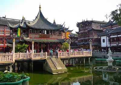 Yuyuan Garden Front - Day View