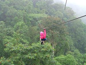 Waterfall Canopy Zipline Tour at Adventure Park Costa Rica Photos