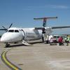 Plane On Apron At Khama Airport