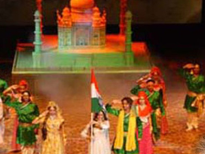 """An Evening with Saga of Love """"Mohabbat the Taj"""" Followed by Light and Sound Show with Dinner Photos"""