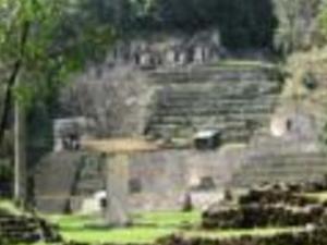 Archaeological  zones Bonampak and Yaxchilan Photos