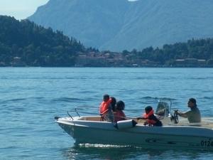 Boat Hire on Lake Como Photos