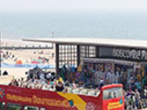 Bournemouth tourist bus Photos