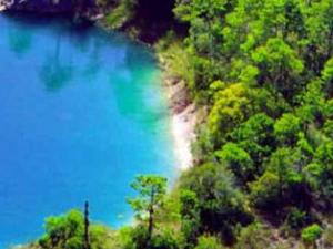 Montebello Lagoons and El Chiflon Waterfall Photos