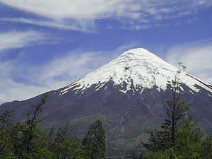Trekking  Desolation Pass on  the Osorno Volcano  & Vicente Pérez Rosales National Park - Chile Photos