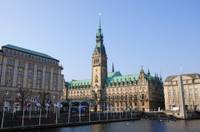 Essential Hamburg Combo: Hop-on Hop-off Tour, Cruise and Lake Alster Photos
