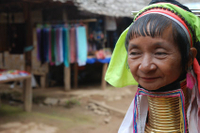 Long-Neck Karen Hill Tribe Tour Including Elephant Ride from Chiang Mai Photos