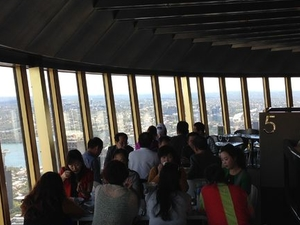 Sydney Tower Restaurant Buffet Photos