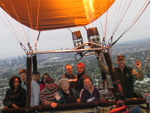 Melbourne Balloon Flight at Sunrise Photos