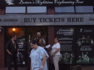 Boston Ghosts and Gravestones Tour Photos